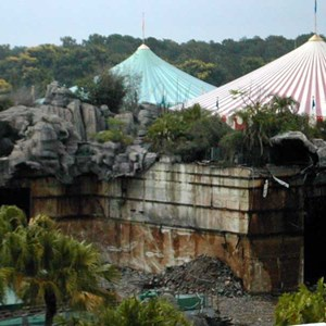 3 of 4: 20,000 Leagues Under the Sea - 20,000 Leagues demolition progress