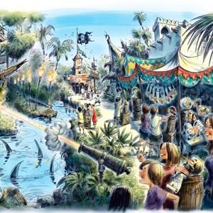 1 of 1: A Pirate's Adventure - Treasures of the Seven Seas - A Pirate's Adventure - Treasures of the Seven Seas concept art