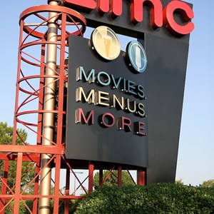 1 of 6: AMC Downtown Disney 24 - New 'Dine In Theaters' signage
