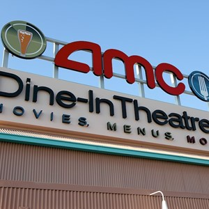 2 of 6: AMC Downtown Disney 24 - New 'Dine In Theaters' signage