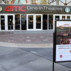 4 of 6: AMC Downtown Disney 24 - New 'Dine In Theaters' signage