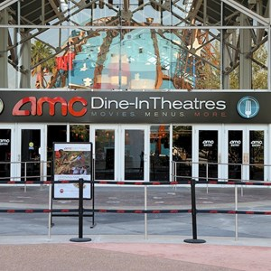 6 of 6: AMC Downtown Disney 24 - New 'Dine In Theaters' signage