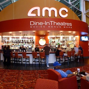 1 of 4: AMC Downtown Disney 24 - Full service bar in the new lobby