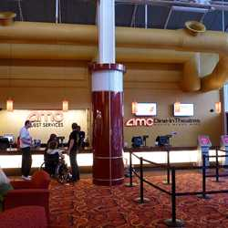 Lobby and Dine-In Theaters