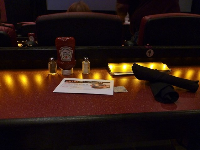 AMC Downtown Disney 24 - Your seat table