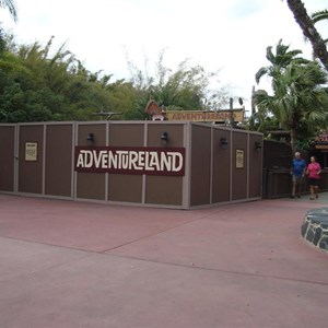 1 of 5: Adventureland - Adventureland bridge refurbishment
