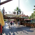 Adventureland - The view from the hub side of Adventureland