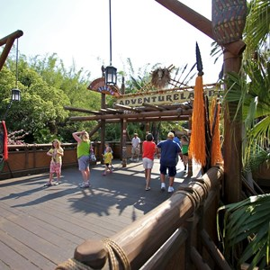 5 of 7: Adventureland - Adventureland bridge refurbishment