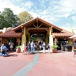 1 of 3: Adventureland - Adventureland entrance refurbishment complete