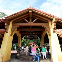Adventureland entrance refurbishment complete