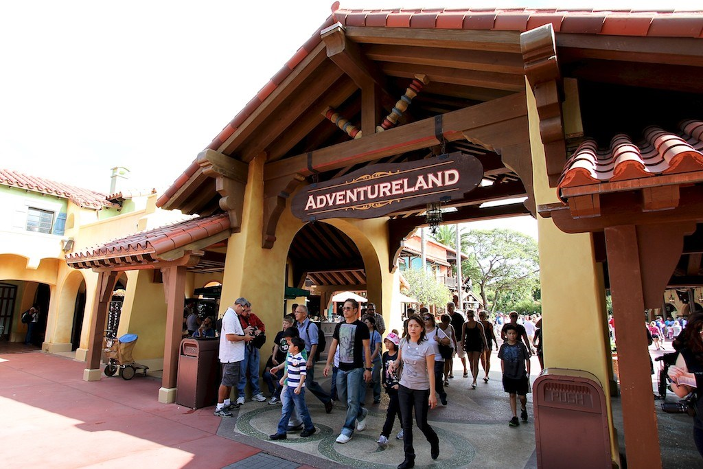 Adventureland entrance refurbishment complete