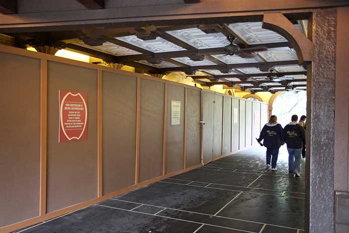 Adventureland restrooms refurbishment