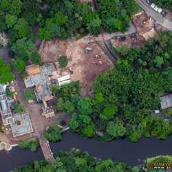Construction behind Harambe