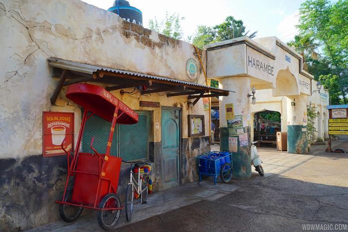 Harambe Market opening day