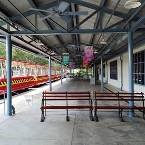 1 of 32: American Film Institute Showcase - American Film Institute exhibit - Tram Tour unload station