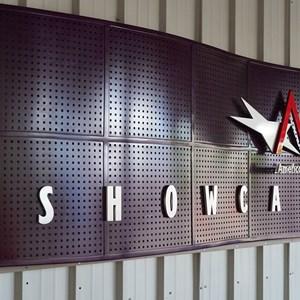 4 of 32: American Film Institute Showcase - American Film Institute exhibit - Entrance signage