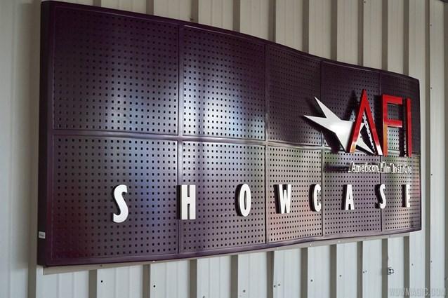 American Film Institute Showcase - American Film Institute exhibit - Entrance signage