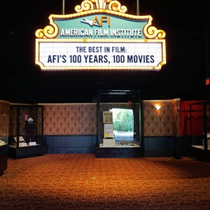 5 of 32: American Film Institute Showcase - American Film Institute exhibit - Inside the main entrance