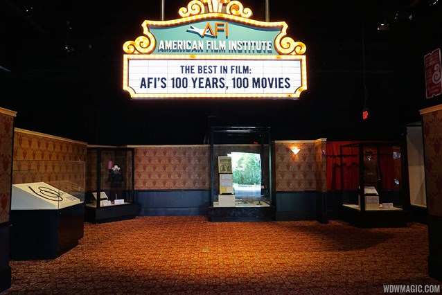 American Film Institute Showcase - American Film Institute exhibit - Inside the main entrance
