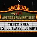 American Film Institute Showcase - American Film Institute exhibit - 100 years signage