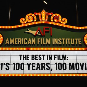 6 of 32: American Film Institute Showcase - American Film Institute exhibit - 100 years signage