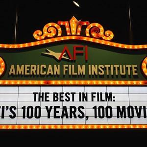 6 of 32: American Film Institute Showcase - American Film Institute exhibit - 100 years signage