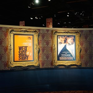 7 of 32: American Film Institute Showcase - American Film Institute exhibit - West Side Story and Titanic posters