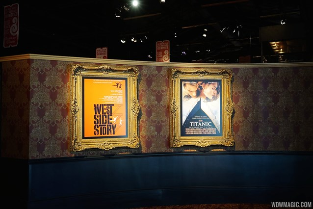 American Film Institute Showcase - American Film Institute exhibit - West Side Story and Titanic posters