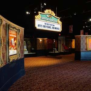 9 of 32: American Film Institute Showcase - American Film Institute exhibit - Lobby