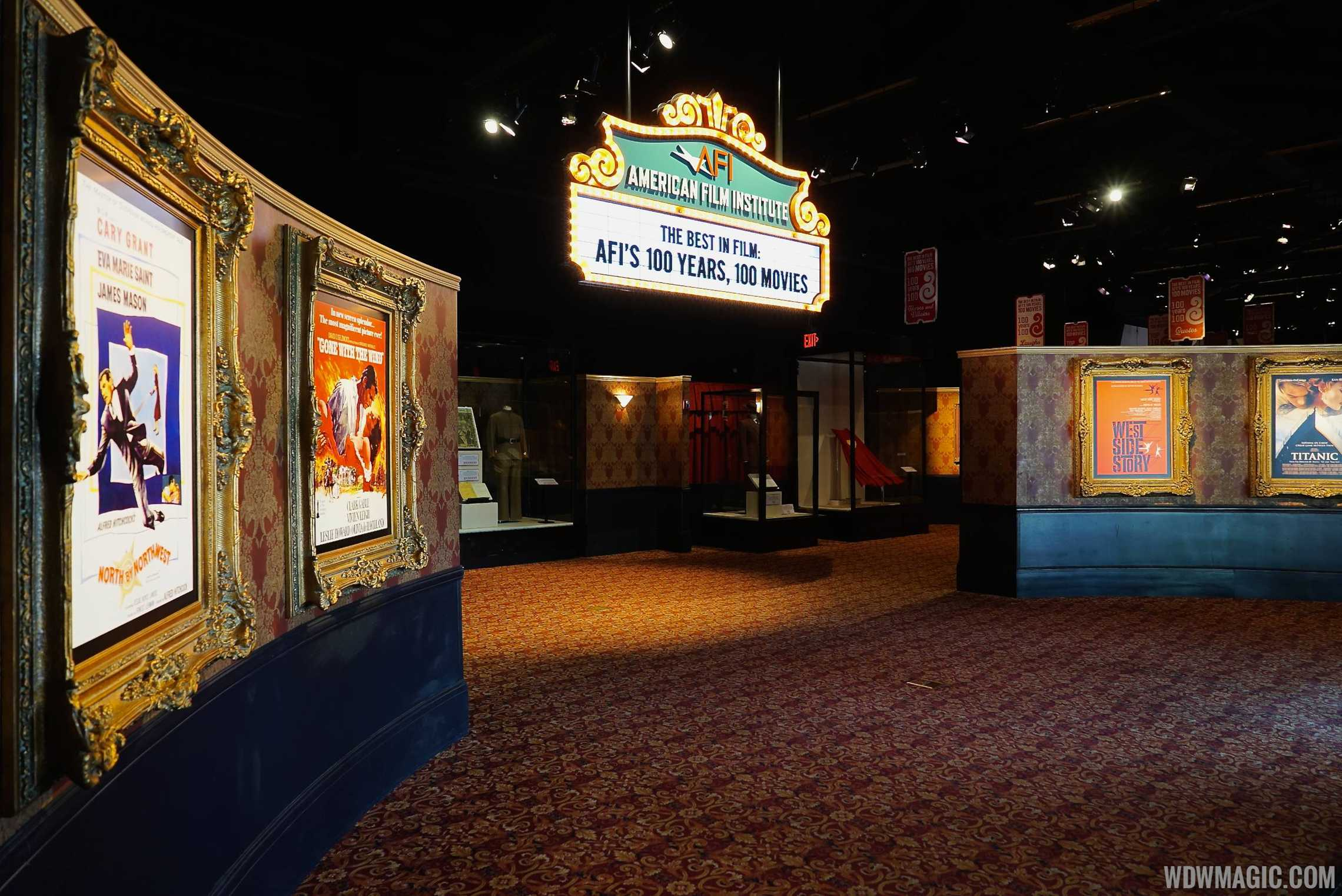 American Film Institute exhibit - Lobby