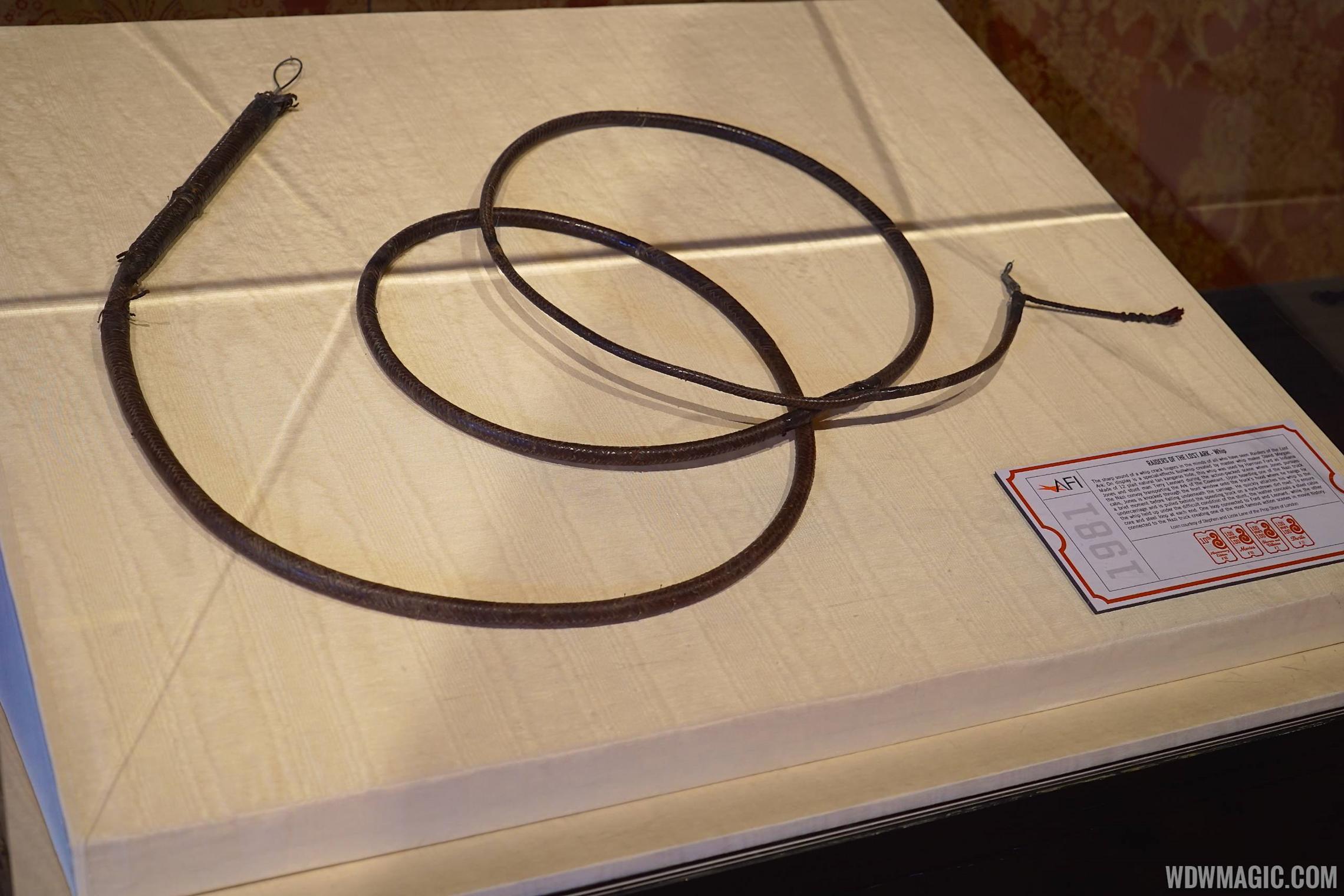 AFI exhibit - Indiana Jones prop