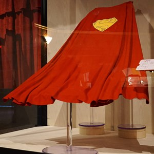 14 of 32: American Film Institute Showcase - American Film Institute exhibit - Superman cape