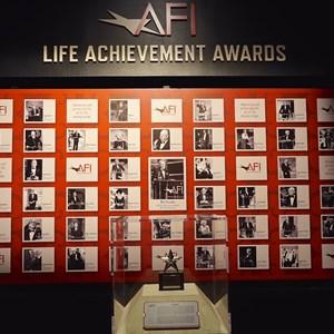15 of 32: American Film Institute Showcase - American Film Institute exhibit - Life Achievement awards