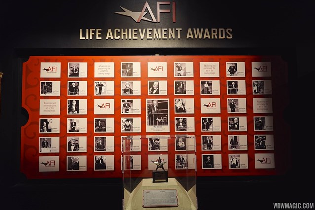American Film Institute Showcase - American Film Institute exhibit - Life Achievement awards