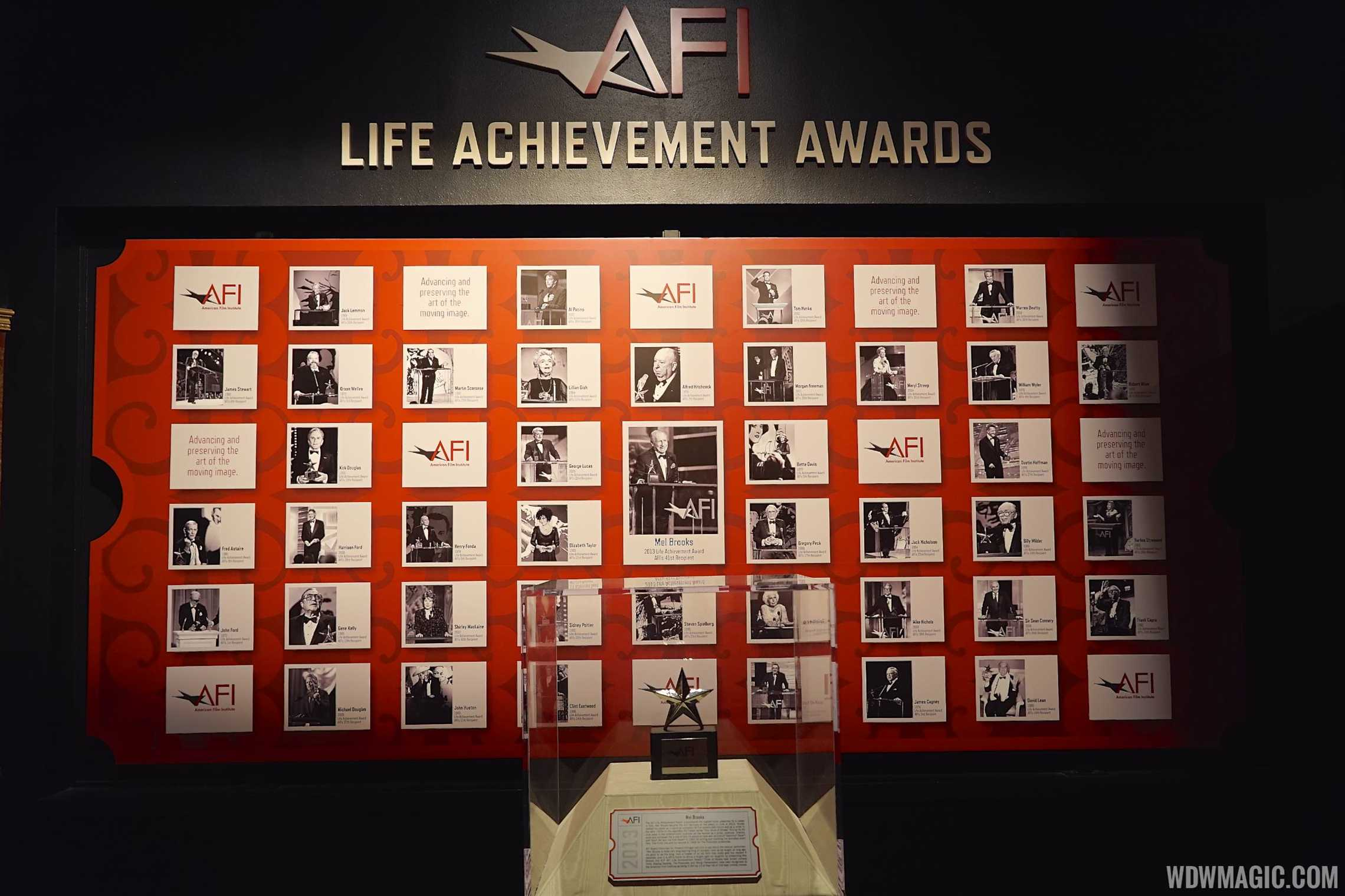 AFI exhibit - Life Achievement awards