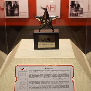 16 of 32: American Film Institute Showcase - American Film Institute exhibit - Mel Brooks Life Achievement award