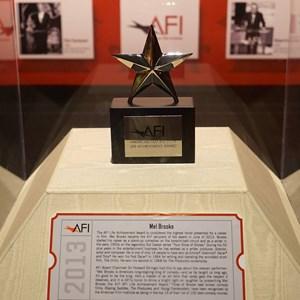 16 of 32: American Film Institute Showcase - American Film Institute exhibit - Mel Brooks Life Achievement award