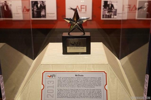 American Film Institute Showcase - American Film Institute exhibit - Mel Brooks Life Achievement award