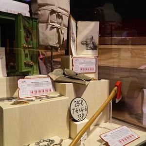 17 of 32: American Film Institute Showcase - American Film Institute exhibit - Titanic props