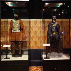 18 of 32: American Film Institute Showcase - American Film Institute exhibit - Batman costume