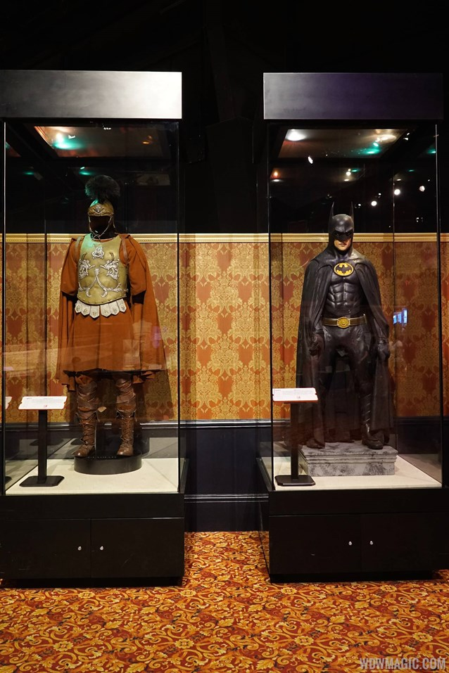 American Film Institute Showcase - American Film Institute exhibit - Batman costume