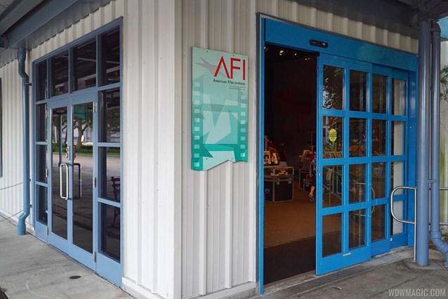 American Film Institute Showcase - American Film Institute exhibit - Exit and entrance to The Showcase Shop