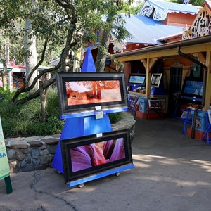 3 of 27: Disney's Animal Kingdom - Beautiful and Beastly artists market