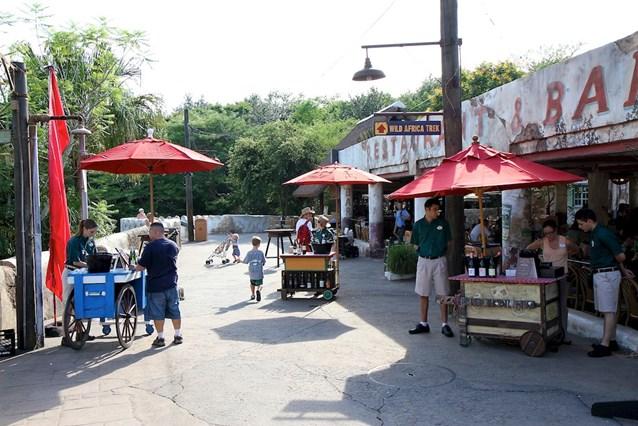 Disney's Animal Kingdom - The Wine Walk