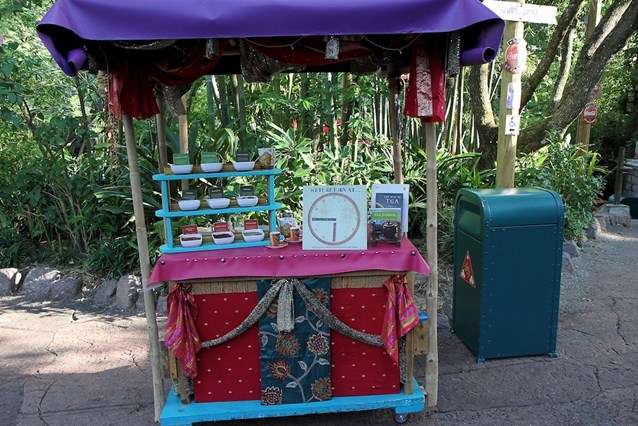 Disney's Animal Kingdom - Tea demonstrations in Asia
