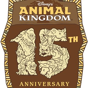 1 of 1: Disney's Animal Kingdom - Disney's Animal Kingdom 15th anniversary logo