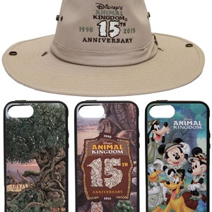 2 of 4: Disney's Animal Kingdom - Disney's Animal Kingdom 15th anniversary merchandise - Hat and iPhone cases