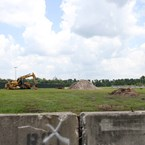 Yeti Parking Lot construction at Disney's Animal Kingdom