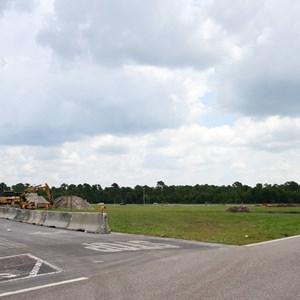 2 of 3: Disney's Animal Kingdom - Yeti Parking Lot construction at Disney's Animal Kingdom