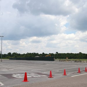 3 of 3: Disney's Animal Kingdom - Yeti Parking Lot construction at Disney's Animal Kingdom